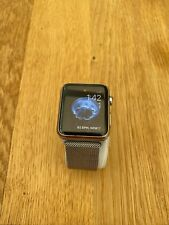 APPLE SMART WATCH IWATCH A1554 STAINLESS STEEL 42MM MILANESE SERIES 1 1ST GEN
