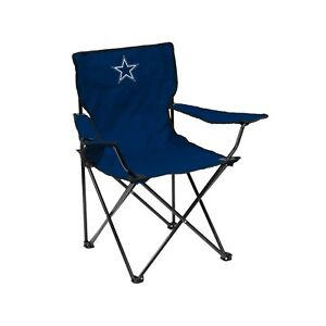 NFL Folding Quad Chair with Carry Bag Dallas Cowboys One Size