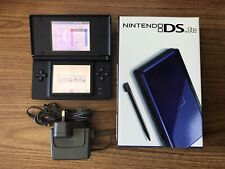 Nintendo DS Lite Black & Blue Console Handheld System NDS BRAND NEW