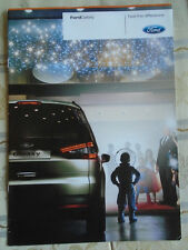 Ford Galaxy range brochure Dec 2009 Irish market