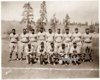 1934 Negro Baseball League Kansas City Monarchs Team Picture 8 X 10 Photo  Pic