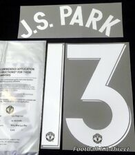 Manchester United J.s.park 2012/13 Uefa Champions League Football Shirt Name Set