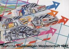 BMW E30 M3 1992 DTM BMW Audi Motorsport Promo Poster Print # 16