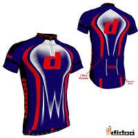 New Men's Team Cycle Riding Outdoor Short Sleeve Shirts Biking Reflective Jacket