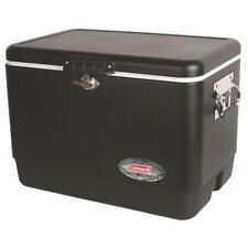 New listing 54 Qt. Matte Black Steel Cooler Free Shipping