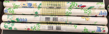 Lot 4 Waverly Wallpaper 573833 Kitchen Pitchers Rolling Pin Scale Flowers White