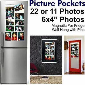 Picture Pockets Hanging Photo Gallery 22 Photos in 11 Pocket Frame Fridge Magnet