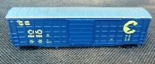 HO Walthers Chessie Waffle Side Box Car Used