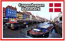 COPENHAGEN, DENMARK - SOUVENIR NOVELTY FRIDGE MAGNET - NEW - GIFT