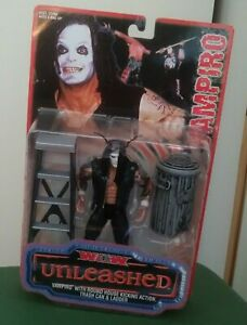 WCW Vampiro Wrestling Figure Toy Biz Unleashed