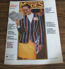 JARDIN DES MODES n° 50/Mars 1982/Spencer et caracos/Maquillages et coiffures