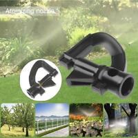 10x Garden Irrigation Spray Head Rotating G Type Injector Nozzle Micro Sprinkler