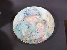 Edna Hibel Colette & Child plate by Royal Doulton 1973