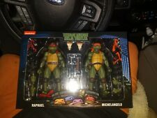 Neca Tmnt both ninja turtle 2 packs Raphael,Donatello,Michelangelo,Raphael