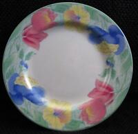 "Passion 4805 by Sango 7-7/8"" Salad Plate Multicolor Floral Green Trim b39"