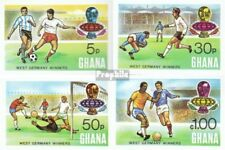 Ghana 581B-584B (complete.issue.) unmounted mint / never hinged 1974 Football