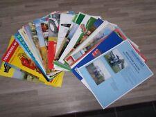 Lot de 48 Prospectus/Brochure/Prospekt agricoles/tracteurs Diverses Marque (540)