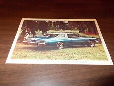 1975 Buick LeSabre Custom Hardtop Coupe Vintage Advertising Postcard