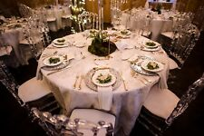 "Elegant 100%  PEWTER charger plate 13""diameter w/ shine finish event, wedding."