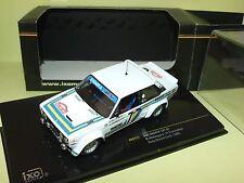 FIAT ABARTH 131 RALLYE MONTE CARLO 1980 WALDEGARD IXO RAC117 Arrivée 3ème 1:43
