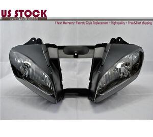US STOCK Headlight Headlamp Clear For Yamaha YZF R6 YZF-R6 R600 2006 2007