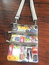 Le SPORTSAC Crossbody Kasey Bag Purse Texting Talking Speech Bubble Print