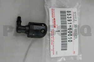 8539160010 Genuine Toyota NOZZLE SUB-ASSY, REAR WASHER 85391-60010