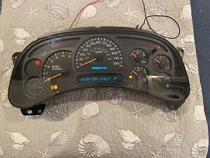 2003-2006 Chevrolet GMC Silverado Yukon Suburban Sierra Instrument Cluster