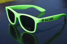 Bacardi Sonnenbrille in grün - Bacardi Razz Brille - Neon Partybrille ++++