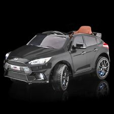 SPORTrax Licensed Ford Focus RS Kids Ride on Car, w/FREE MP3 Player - Black