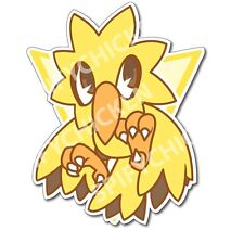 Pokemon GO Team Instinct Zapdos Vinyl Sticker Decal Parody Fanart