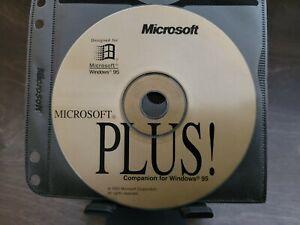 "ULTRA RARE: Microsoft PLUS! ""Companion for Windows 95"" Gold CD for Beta Testers!"