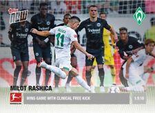 2018-19 Topps NOW Bundesliga 6 Milot Rashica Wins Game with Clinical Free Kick