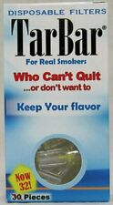 TarBar Cigarette Filters Disposable (4 Boxes / 128 Total)