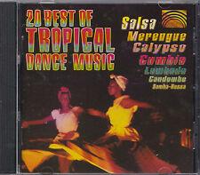 20 Best of Tropical Dance Music - Salsa, Merengue, Calypso, Cumbia, Lambada