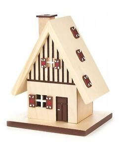 Gingerbread House German Christmas Incense Smoker Handcrafted Erzgebirge Germany