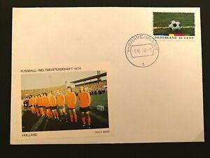 Fussball - WM - Beleg WM 1974 - DDR - Gruppengegner Holland