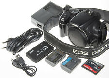 Canon EOS 350D / Digital Rebel XT 8MP DSLR camera +1Gb CF +card reader +2 batt.