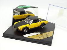 Vitesse 1/43 -  Fiat 124 Spider Sport Abarth Jaune