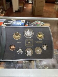 2000 Royal Canadian Mint Proof Set with box & COA - Voyage of Discovery Silver