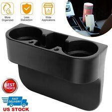 Car Cup Holder Console Side Key Phone Holder Seat Gap Filler Storage Organizer