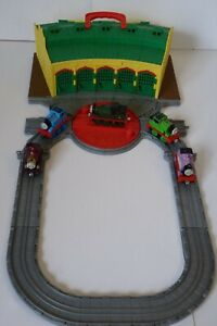Tidmouth Sheds with 5 Engines Take n Play Thomas & Friends, Fisher-Price