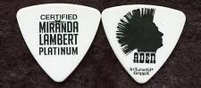 MIRANDA LAMBERT 2014 Platinum Tour Guitar Pick ADEN BUBECK custom concert stage