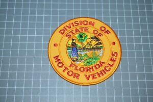 Division OF Motor Vehicles State Of Florida Patch (B17-8)