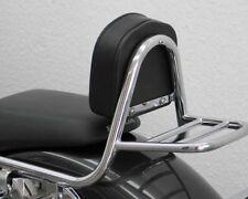 Sissy Bar de pipe avec pad et le transporteur, Honda VT 750 S 2010-