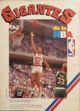 Álbum de cromos de la revista ''Gigantes del Basket'' (1987)