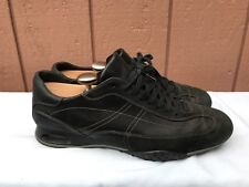 Cole Haan Air Men's US 9.5 Leather Comfort Black Fashion Sneakers C07623 A6