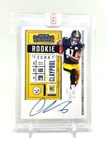 2020 Panini Contenders CHASE CLAYPOOL Rookie Ticket On Card Auto RC #120