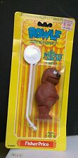 Rowlf Stick Puppet Muppet Show Players Fisher Price Vintage 3 inch