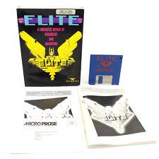 """ELITE for IBM PC 3.5"""" in Big Box by Rainbird, 1987, VGC, CIB, MS-DOS"""